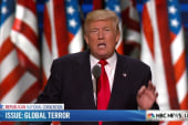 Trump hits Hillary Clinton on foreign policy