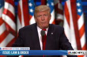 Trump: 'I am the law and order candidate'