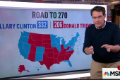 What Tim Kaine means for electoral map math