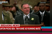 Kaine 'a believer in possibilities'
