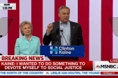 Kaine: 'Hillary and I will not rest' until...