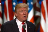Trump portrays US as besieged by chaos at...