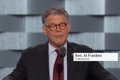 Sen. Al Franken rips on Donald, Trump U.