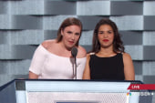 Lena Dunham, America Ferrera speak out...