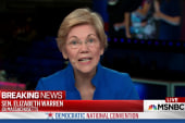 Sen Warren: Trump would be a danger to US