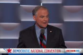 Kaine cites faith, family and work as key...