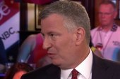 De Blasio: We will make history in a...
