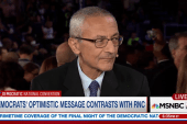 Podesta: Clinton to take on negativity of...