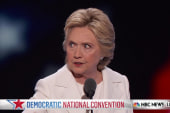 Clinton on unity and milestones
