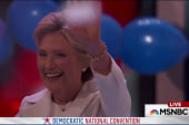 Clinton fulfills her political destiny