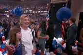 Clinton delivers meaty, 'workman-like' speech
