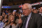 'The public grieving' from Sanders'...