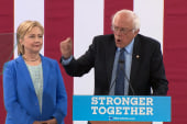 'It wasn't perfect': Sanders' Clinton...