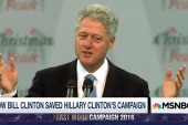 Bill Clinton saved Hillary Clinton's...