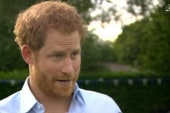 Prince Harry on Princess Di's death