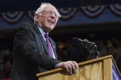 LIVE:Sanders attends Latino leadership event