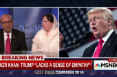 Khan family responds to Trump criticism