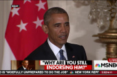 Pres. Obama: Trump is 'woefully unprepared'
