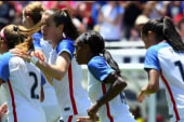 US women's soccer team eyes another goal