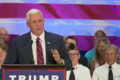 Pence: Trump will fight for law and order