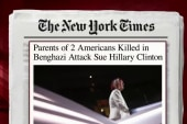 Two Benghazi parents sue Hillary Clinton