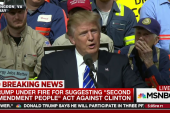 The message in Trump's 2nd Amendment remark