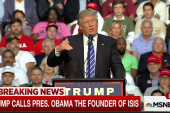 Trump calls Obama 'the founder of ISIS'
