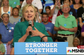Clinton flips polling script with big leads