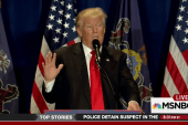 Trump calling for supporters to police the...