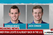 Two US swimmers pulled from plane in Brazil