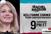 Trump campaign manager joins Maddow Wednesday