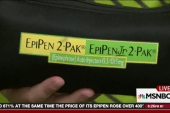 Outrage over EpiPen price increase