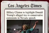 Clinton speech to focus on Trump and 'alt...