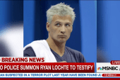 Rio police summon Ryan Lochte to testify