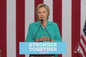 Clinton: Trump Doesn't See the Success of...