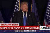 Donald Trump shifts on immigration again