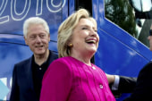 Clinton: We have gone beyond most charities