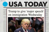 Trump set to deliver 'major' immigration...