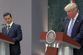 Trump Visit to Mexico Criticized As ...