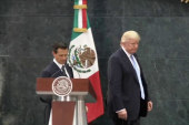 Trump's volatile relationship with Mexico