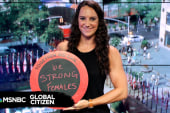 Olympian Maggie Steffens Encourages Other...