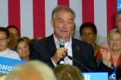 Kaine: We are the underdogs until we win