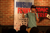 Muslim comedians fight fear with funny