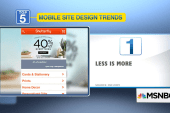 5 design trends for mobile websites