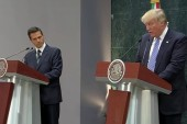 Mexican president, Trump differ on border...