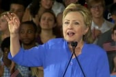 Clinton campaign quiet on press conferences