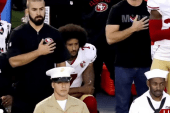 Soccer star joins national anthem protests