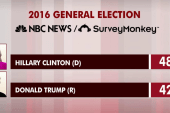 Clinton leads nationally but race remains...