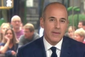 Matt Lauer previews upcoming forum
