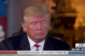 Trump: Generals not successful under Obama